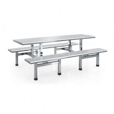 八人位不锈钢餐桌