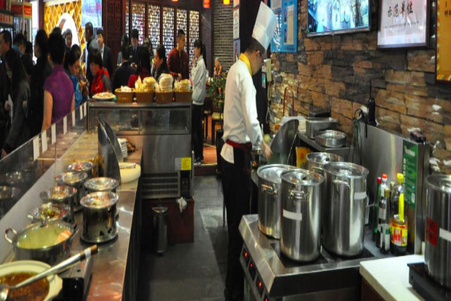 明档厨房商超店方案
